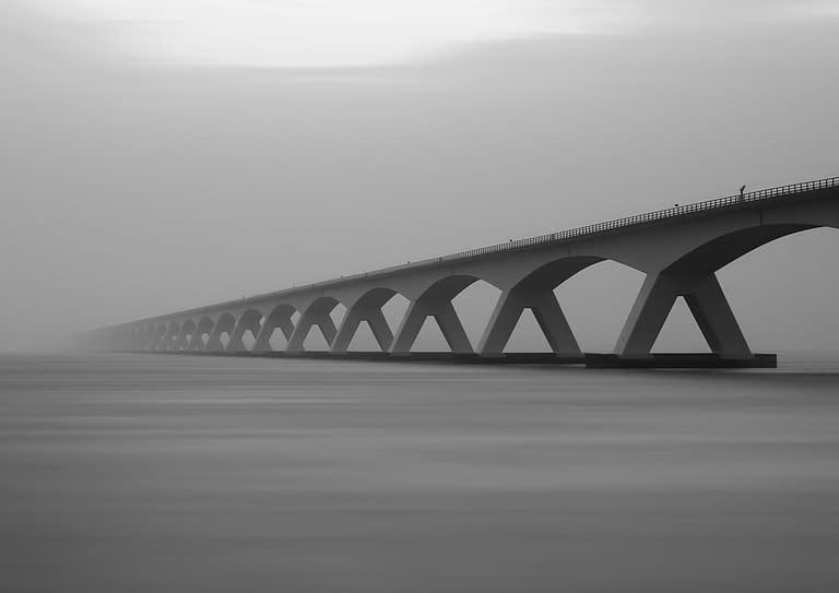 Brücke Nebel
